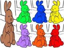 VeggieTales Chocolate Bunnies Colorful
