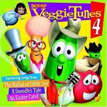 Veggie Tunes 4 VeggieTales CD