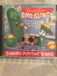 VeggieTales Junior's Playtime Songs CD