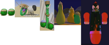 VeggieTales Dave and the Giant Pickle Modeling
