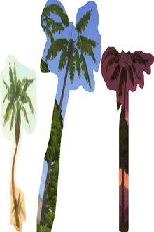Four Palm Tree As Himself