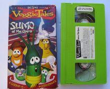 VeggieTales Sumo of the Opera 2004 VHS Sony Wonder