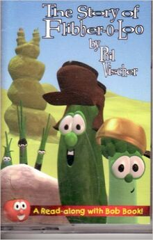 VeggieTales Read Along Book The Story of Flibber-o-Loo