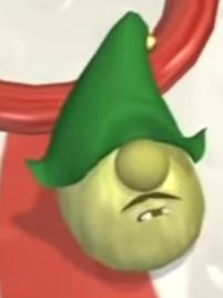Mr. Lunt As Little Elf Helper