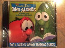 NEW VeggieTales CD Bob and Larry's Sunday Morning Songs 15 songs