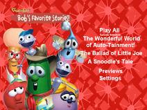 Bob's Favorite Stories DVD menu