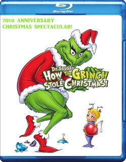 How the Grinch Stole Christmas! (1966; 70th Anniversary Christmas Spectacular!, 2017, Blu-ray)