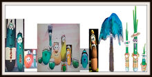 Smile VeggieTales Dave and the Nebbie K Nezzer Palmy Museum Matte Frames