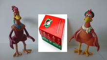 Chicken Run Rocky Ginger Toys and Christmas Child Boxes