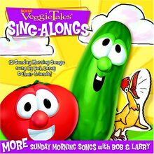 Veggie Tales Sing Alongs More Sunday Morning Songs with Bob and Larry CD