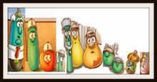 VeggieTales Dave and the Mr Nezzer Frames