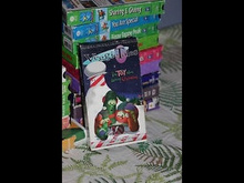 VeggieTales The Toy That Saved Christmas 1996 VHS Word Entertainment