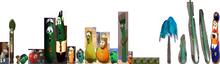 25 VeggieTales Dave and the Mr. Nezzer Palmy the Tree As Himself