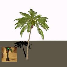 VeggieTales Palm Tree Potted Plants As Himself Model & Palm Tree 3D Model Blend