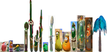VeggieTales Dave and the Mr. Nezzer as Israel Merchant Palmy the Tree Debut