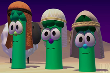 Sheep And The Three Brother Asparagus Model