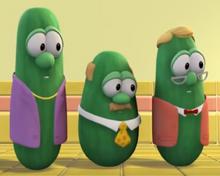 Steve the Cucumber As Himself Bob the Cucumber As Himself Mark the Cucumber As Himself