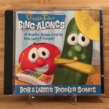 VeggieTales Bob and Larry's Toddler Songs CD