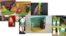 Fifteen VeggieTales Toys & Clay And Model Hallmark Figurine PlushBuddies