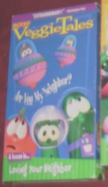 VeggieTales Are You My Neighbor 1999 VHS Lyrick Studios