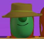 VeggieTales Brown Hat Tom Grape Model