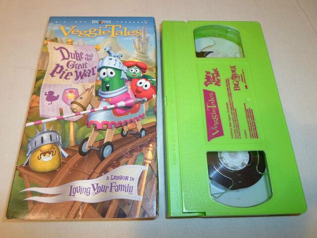 File:VeggieTales Duke and the Great Pie War VHS 2004.jpg
