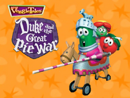 Duke and the great pie war title screen