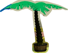 VeggieTales Palm Tree Potted Plants