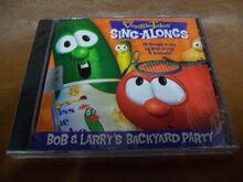VeggieTales Sing-Alongs Bob And Larry's Backyard Party CD