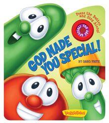 God Made You Special Sound Board book VeggieTales
