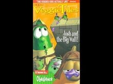 VeggieTales Josh And The Big Wall 1999 VHS Lyrick Studios