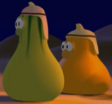 Dave's Brother Jerry Gourd And Dave's Brother Jimmy Gourd Model