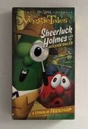 VeggieTales Sheerluck Holmes and the Golden Ruler 2005 VHS Word Entertainment