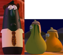 Mr. Nezzer As Himself Jerry Gourd As Dave's Brother Model And Jimmy Gourd As Another Brother VeggieTales