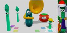 Six VeggieTales Modeling