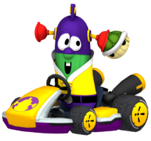 LarryBoy Kart Nintega Dario VeggieTales Model