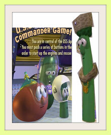 Bob The Tomato Larry The Cucumber Junior Asparagus Archibald Asparagus Frames