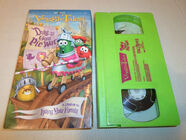 VeggieTales Duke and the Great Pie War VHS 2005