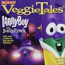 VeggieTales Larry-Boy The Soundtrack CD Lyrick Studios