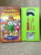 VeggieTales Minnesota Cuke and the Search for Samson's Hairbrush 2005 VHS Word Entertainment