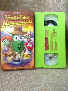 VeggieTales Minnesota Cuke and the Search for Samson's Hairbrush 2005 VHS Word Entertainment
