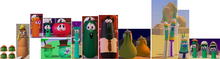 22 VeggieTales Modeling