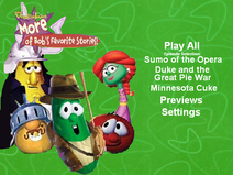 More of Bob's Favorite Stories DVD menu