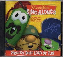 VeggieTales Pirates' Boat Load of Fun by VeggieTales CD