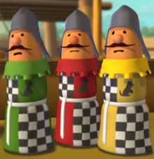 The Three Dog Knights