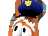 Scooter Carrot As Policeman
