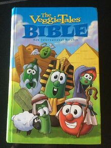 VeggieTales Kidz Bible New International Version HARD BACK