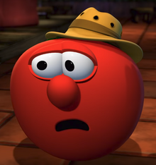 Bob the Tomato As Brown Hat