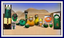 VeggieTales Dave and the Neddy K Mr Nezzer Frames