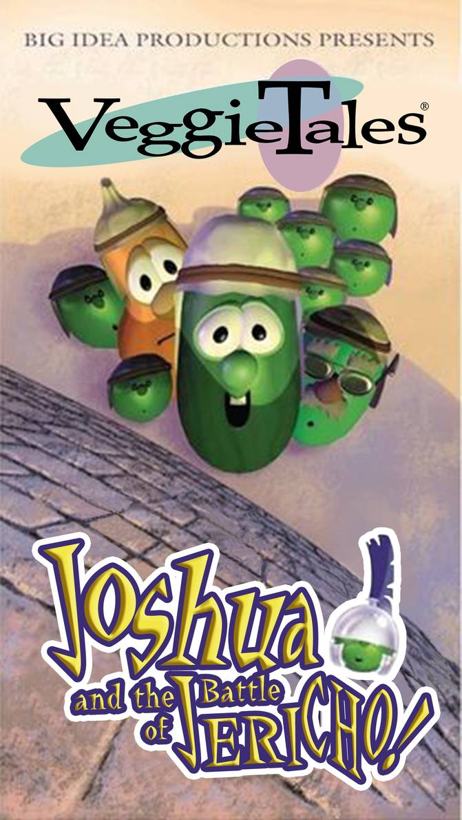 quotjosh and the big wallquot veggietales its for the kids